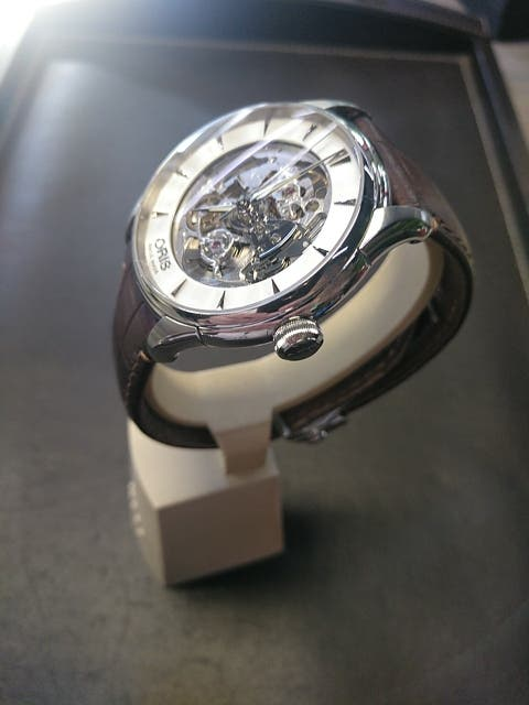Reloj Oris Classic Skeleton