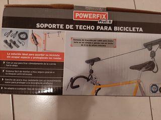 soporte de techo para bici