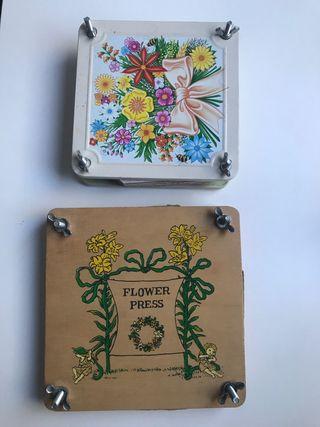 Prensa flores