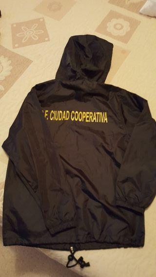 Chubasquero corta-vientos CF Cooperativa .