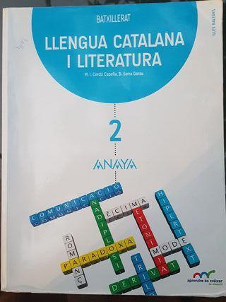 Llengua Catalana i Literatura 2n Batxillrat