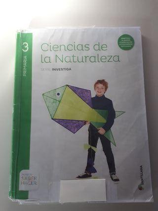 Santillana Naturaleza Tercero primaria