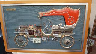 Cuadro coche Fiat 1906