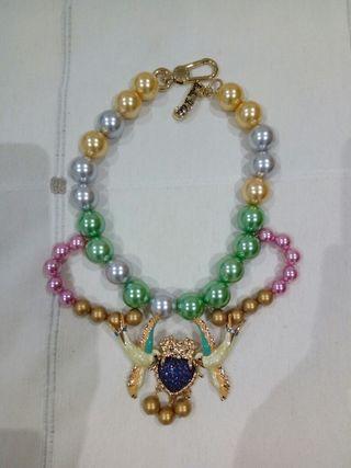 collar bimba y lola perlas