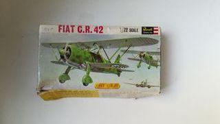 Maqueta avión Fiat C. R. 42 2ª Guerra Mundial
