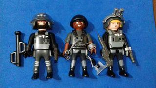 Playmobil equipo élite policia