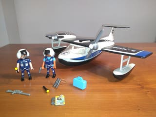 Hidroavión policía Playmobil