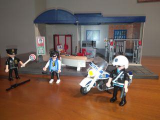 Comisaría de policía maletín de Playmobil
