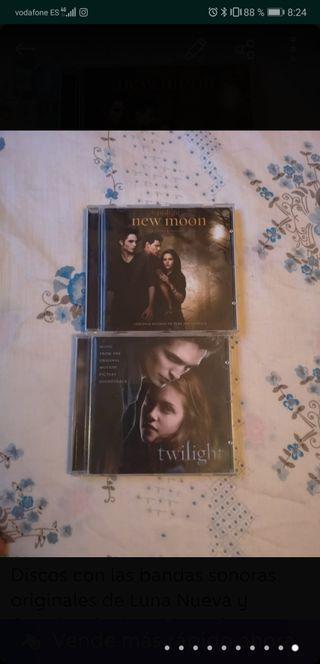 BSO Original Crepúsculo y Luna Nueva