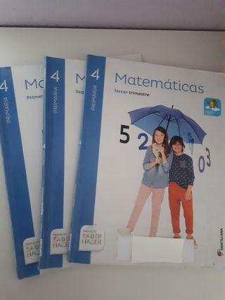 Santillana Matematicas Cuarto Primaria