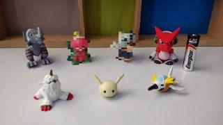Figuras Digimon de Bandai
