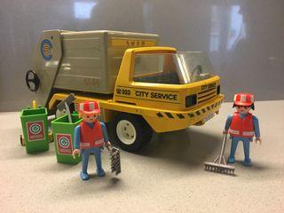 PLAYMOBIL Camión basura ref: 3780 1990
