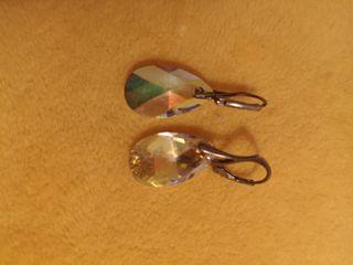 aretes con cristales Swarovski