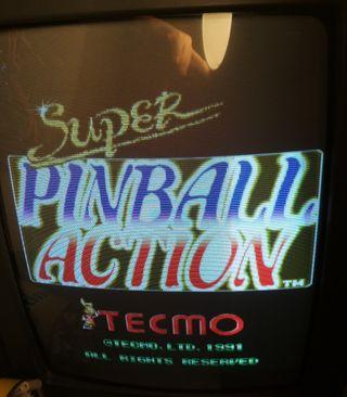 Placa jamma Super Pinball Action original