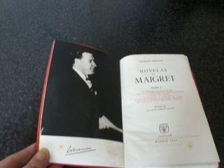 1-GEORGE SIMEON- NOVELAS DE MAIGRET I
