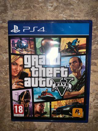 GTA V PS4 SIN ESTRENAR