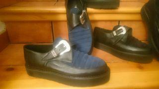Segunda Mano Buggies Creepers 1 Rockabilly Zapatos De Por Nuevos O0wPXnk8