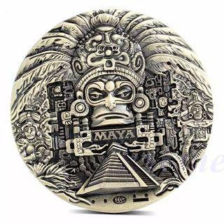 moneda Calendario Maya