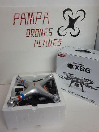 dron con camara de iniciacion