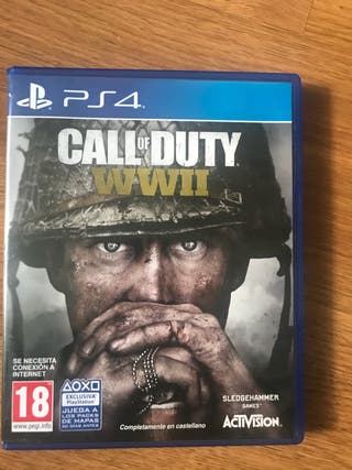 CALL OF DUTY WW2- PS4