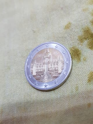 Moneda de Alemania 2016
