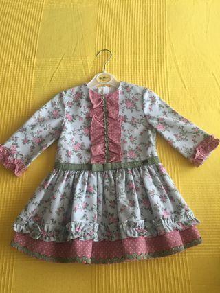 Vestido niña talla 2-3