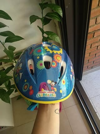 casco bici Mickey mouse