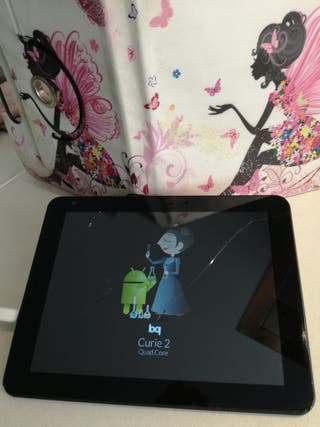 Tablet BQ Curie 2 con funda