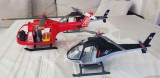 helicópteros playmobil