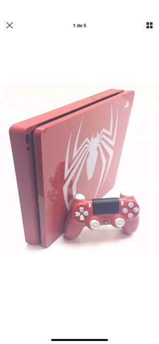 Ps4 Slim edición limitada Spiderman 1tb