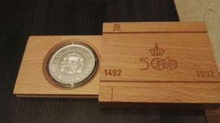 moneda de plata de colección