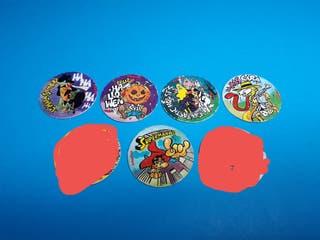 tazos caps donettes movies peliculas