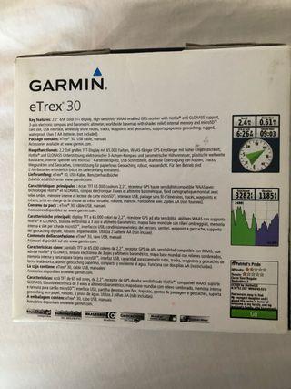 GPS Garmin e Trex 30