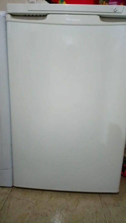 congelador pequeño como nuevo