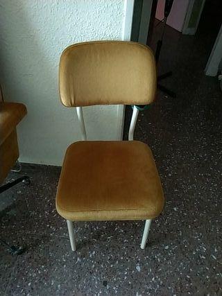 silla suave para salón o exterior