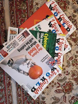 Revistas para aprender inglés