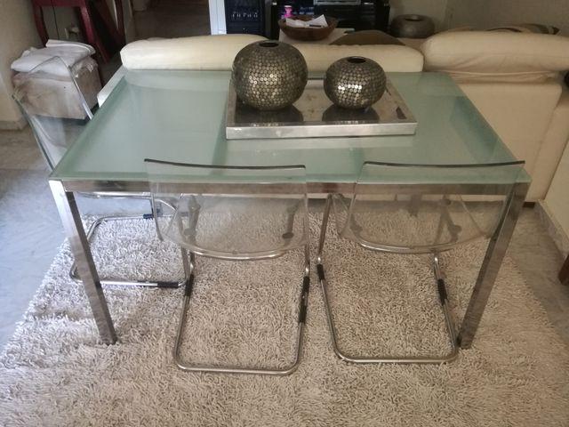Conjunto mesa y sillas Ikea