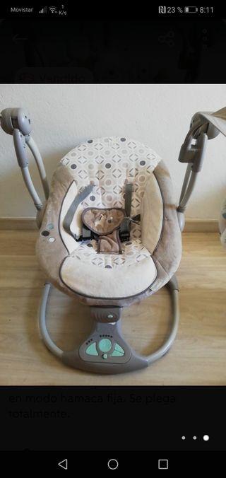 balancín tumbona bebé