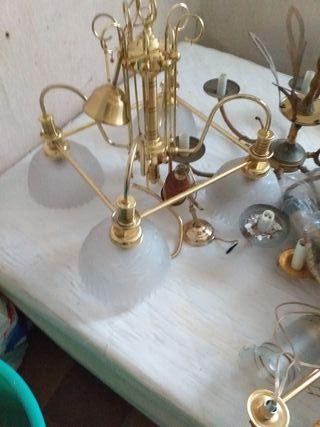 vendo varias lámparas