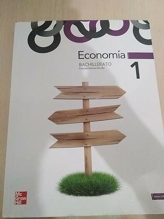 Libro de Economía 1°Bachillerato McGrawHill