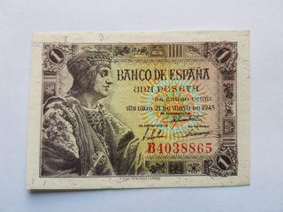 1 peseta 1943 SC