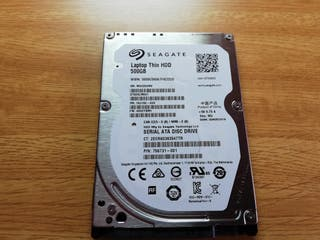 Disco duro Seagate 2.5 500gb 7200 Rpm