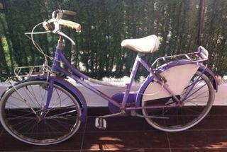 "Bicicleta antigua ""restaurada """