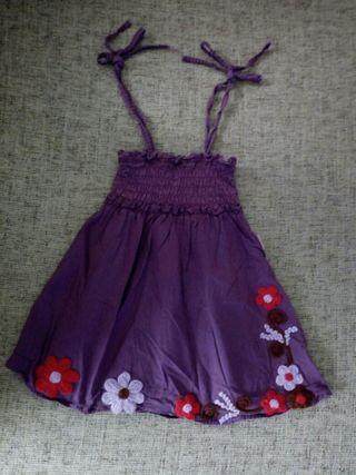 Vestido verano, talla 2 años