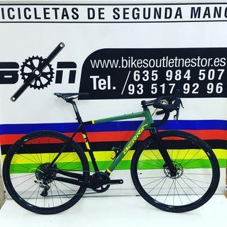 Bicicleta Berria grava carbón de test