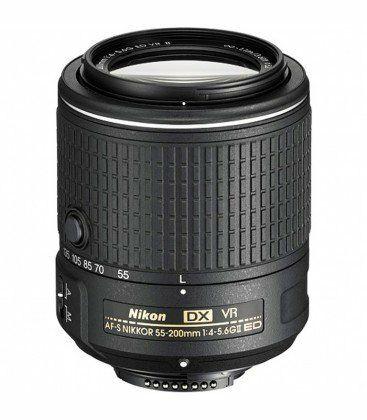 objetivo nikon Nikon 55-200mm F4-5.6G VR II AF-S D