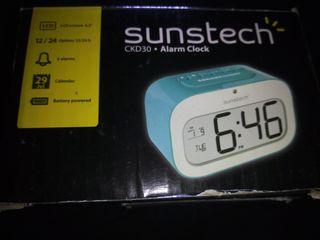 Reloj despertador digital suntech