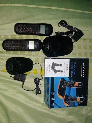 Telefonos Alcatel Sigma 260 duo