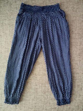 Pantalones verano niña, talla 4 años