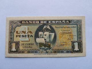 1 peseta 1940 SC-